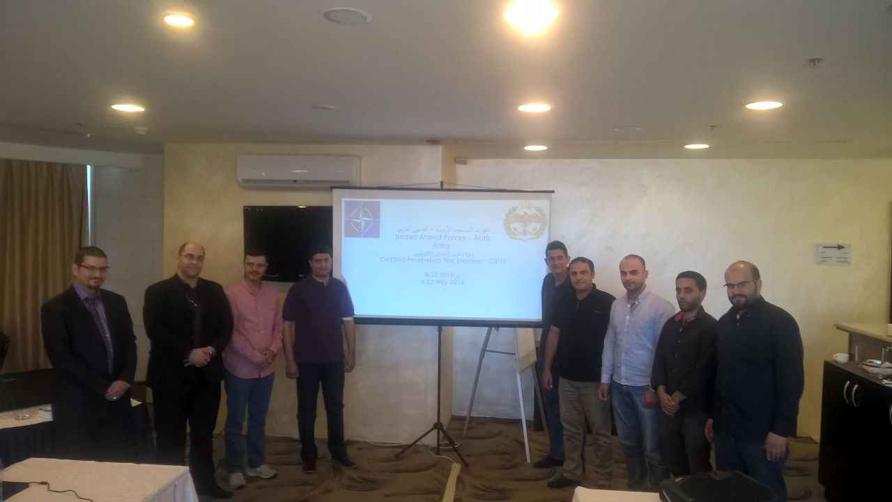 Mile2-Certified Penetration Testing Engineer (CPTE) Course in Amman